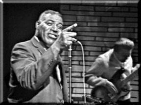 "Wolf on ""Shindig"" TV show in 1965"